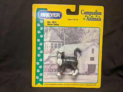 Breyer #1511 Companion Animal Dog Silver Tabby New in Package
