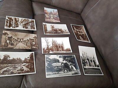 vintage cambridge/ norwich / peterborough and surrey postcards collectable