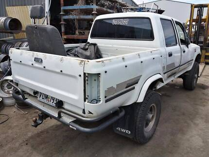 Wrecking 95 Toyota Hilux SR5 RN106 DCab MT 4WD 161101, Parts Only
