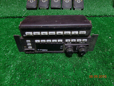 Motorola Spectra Vhf Mobile Radio A4 Control Head With Sys9000 P. Address B08