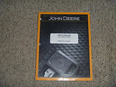 John Deere 950j Crawler Dozer Bulldozer Factory Oem Part Catalog Manual Pc9550
