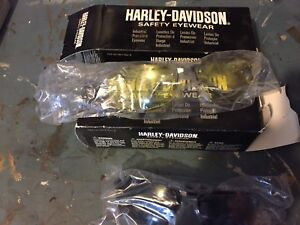 2 pairs of Harley Davidson Safety Glasses