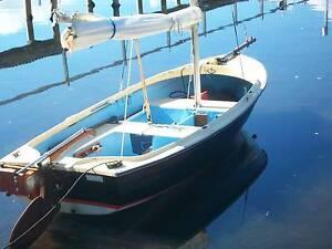 Fairlite Gull 3.8 metre fibreglass sailing boat. Woy Woy Gosford Area Preview