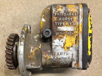 2 Fairbanks Morse Magnetos Tractor Hit Miss Farm Vintage Antique Harley
