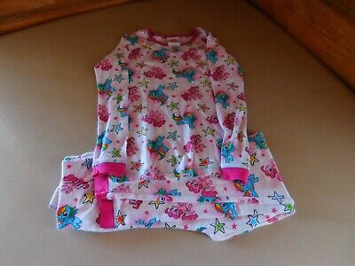 Girl's 2 Piece Size 8 Flame Resistant Sleepwear Clothing My Little Pony Snug Fit