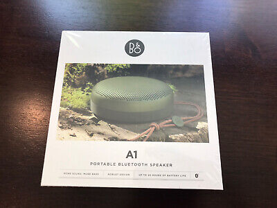 Bang & Olufsen Beoplay A1 Portable Bluetooth Speaker with Microphone– Moss Green