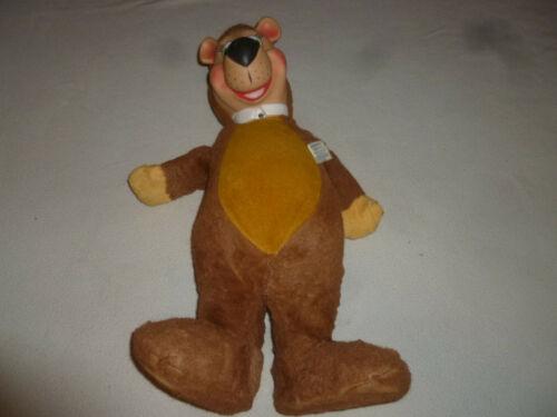 VINTAGE KNICKERBOCKER HUCKLEBERRY HOUND PLUSH 1959 YOGI BEAR STUFFED ANIMAL TOY