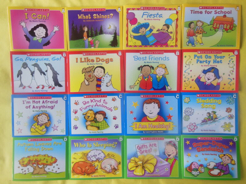 Lot 16 Childrens Kids Books Early Readers Beginning Scholastic Learn to Read