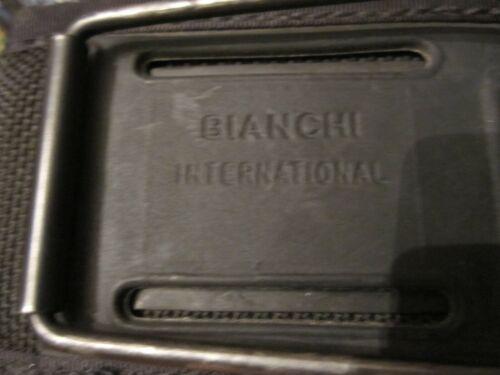 BIANCHI HIP EXTEND0ER  NYLON BLACK MILITARY