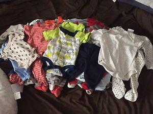 Lot of newborn baby boy clothes!!!great deal!!!