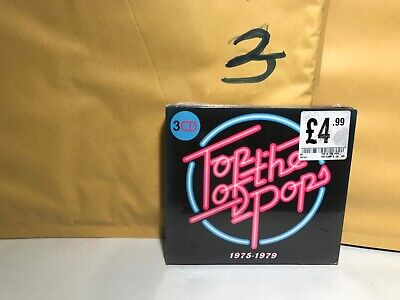 Top Of The Pops ~ 1975 - 1979 NEW 3XCD ABBA,Mud,Sparks,Blondie,Squeeze ETC