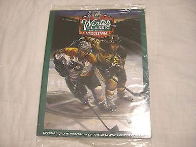 Boston Bruins vs Philadelphia Flyers NHL 2010 Winter Classic Official Program