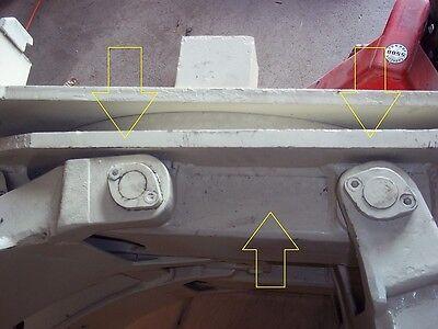 674845u Cascade Forklift Face Plate Frame 32.5x31 674845