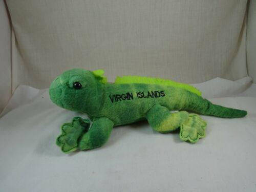 "Fiesta Virgin Islands Iguana Plush 11.5"""