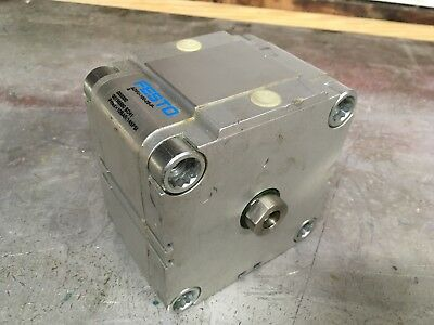 Festo Pneumatic Linear Actuator Cylinder 25mm 1 Inch Stroke High Force.
