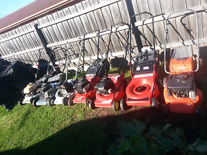 Lawn mowers x7 suit FIXEXER or parts Noble Park Greater Dandenong Preview