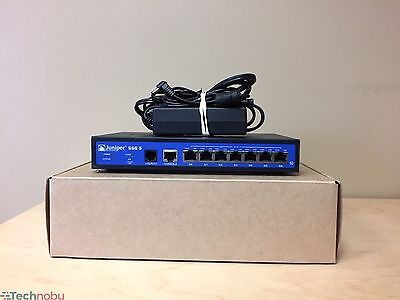 Juniper Networks Ssg 5 Sh M Security Gateway 7 Port Vpn Firewall 256Mb