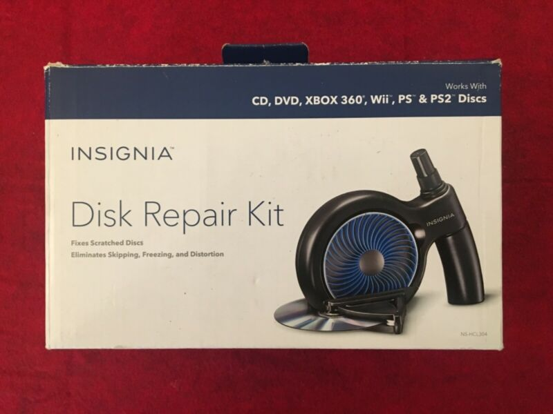 Insignia NS-HCL304 Manual Disc Repair System, Open Box, Unused
