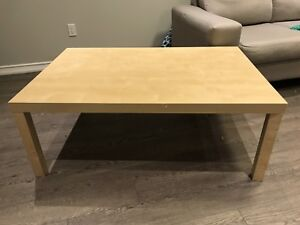 Large lack coffee table