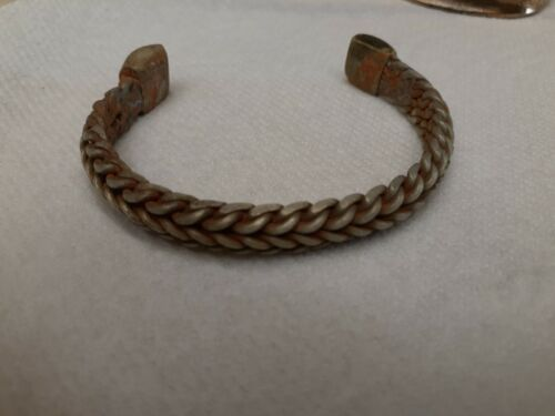 Ancient Viking woven bracelet