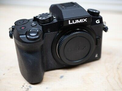 Panasonic Lumix G7 16MP Mirrorless Digital Camera Body Only with Battery/Charger