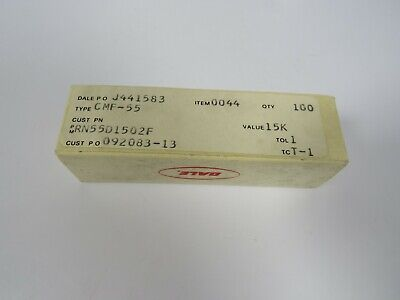 100 Dale Cmf-55 16.9k 1 18w Metal Film Resistors Rn55d1692f