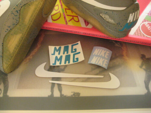 Back to the Future - Light Up Mag Upgrade Swoosh & Decals - Shoes Not Included