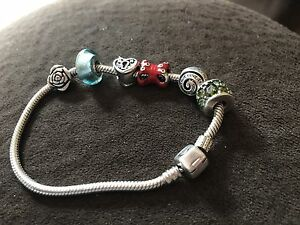 Chamilia Bracelet and charms
