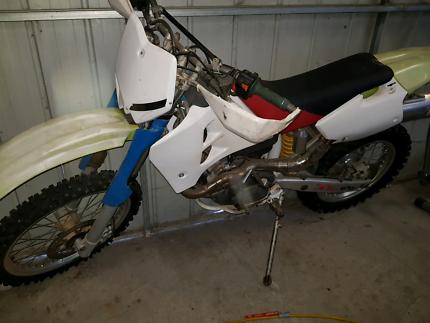 Husky 610 Motor Bike