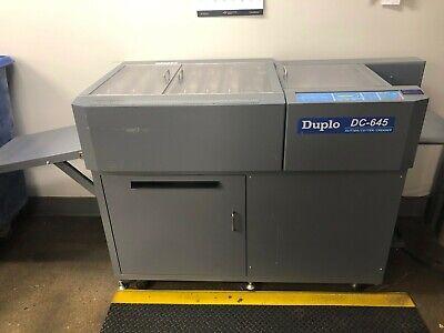Duplo Dc-645 Slittercuttercreaser