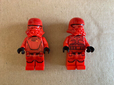 lego star wars mini figures 2 X Sith Trooper