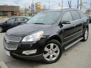 2012 CHEVROLET TRAVERSE LTZ | NAVI• AWD• 2Roofs • Leather• Rear Cam • 2 Roofs