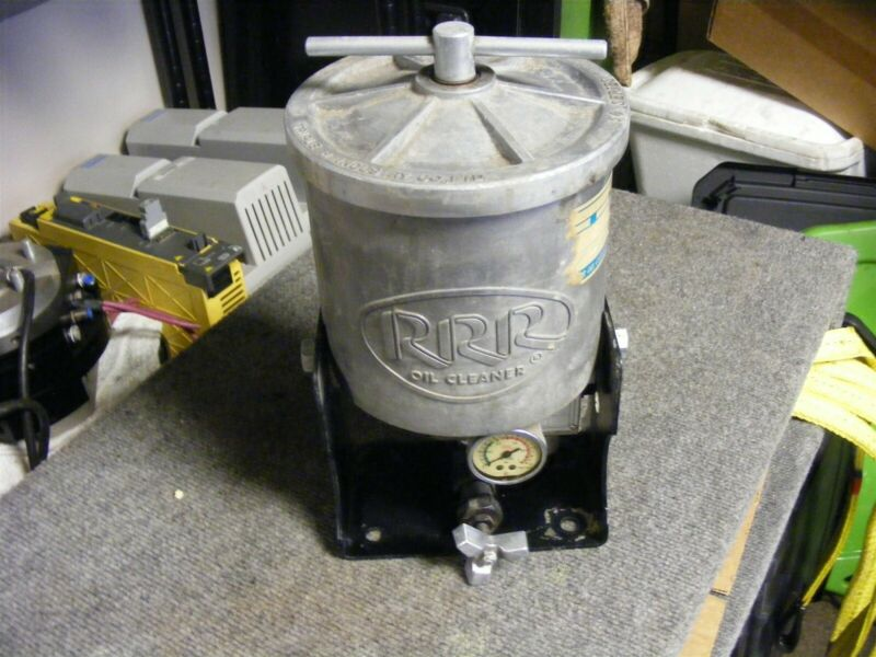 Triple R Industries BU 50 E Continuous Oil Cleaner Cat No. 1960