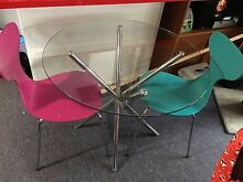 Table and two chairs Redcliffe Belmont Area Preview