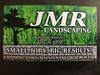 JMR  Landscaping and sodding