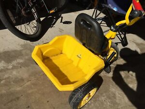 Tonka tricycle dumptruck