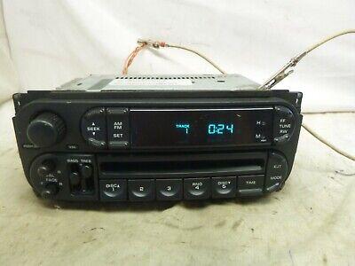 2002-2007 Dodge Chrysler Jeep OEM Radio CD Player P05091556AF HLQ52