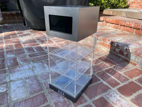 Original USED Grey J U U L Display Case With Working Video Monitor Ready To Ship
