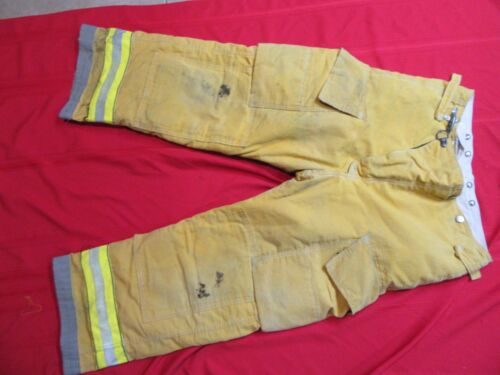 Globe 38 x 28 Firefighter Turnout bunker fire Pants gear halloween costume
