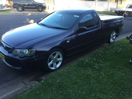 2005 BF XR6 MANUAL UTE