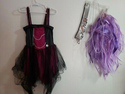 Spectra Vondergeist Halloween Costume (monster high spectra vondergeist  Child Small Size 4-6 halloween)