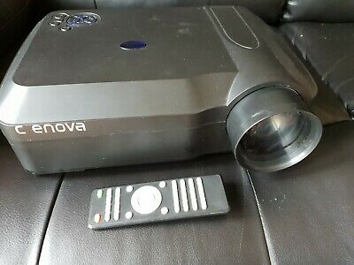 CRENOVA Projector with Remote