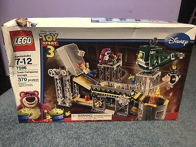 Lego Disney Toy Story 3 Trash Compactor Escape NIB 7596