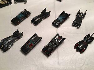 Hot wheels Batmobile collection