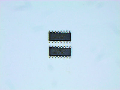 Sn75175d Original Texas Instruments 16p Smd Ic 2 Pcs