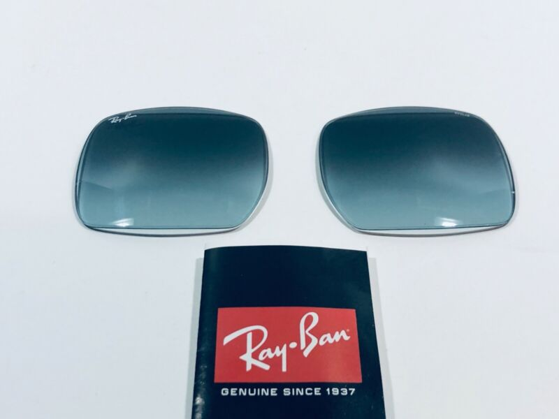 Ray Ban Replacement Lenses RB1971 Blue Gradient, Square 54mm New Authentic
