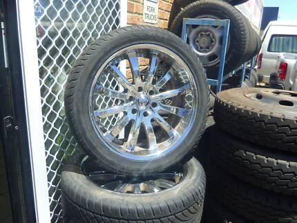 zenetti 22inch rims an tyres