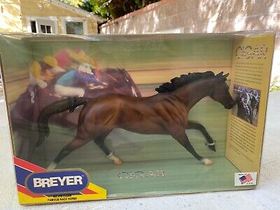 Famous CIGAR Breyer #476! Vintage Famous Race Horse Collectible NIB