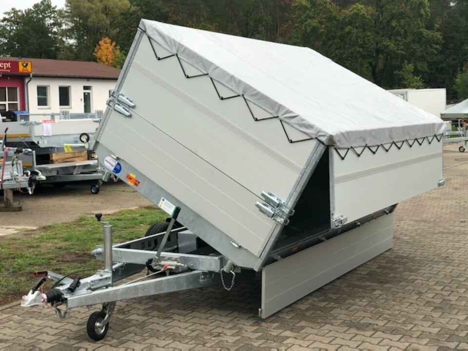 ⭐️ Eduard e-Kipper 3-Seiten 2700 kg 330x180x110cm Rampen 72 in Schöneiche bei Berlin