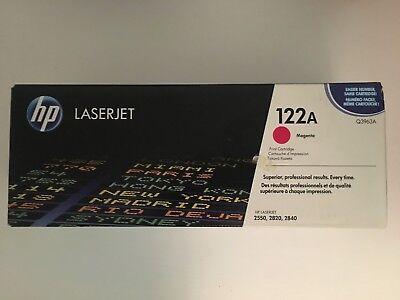 HP Toner 122A Q3963A magenta für HP Laserjet 2550 2820 2840 mRechnung NEU # gebraucht kaufen  Hamburg